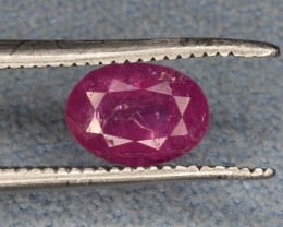 Natural Unheated Ruby 0.90 CTS