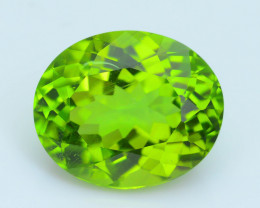 Exquisit Color 7.25 ct Burma Peridot Sku-3