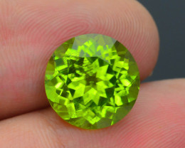 Exquisit Color 7.12 ct Burma Peridot Sku-3