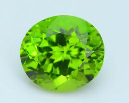 Exquisit Color 6.15 ct Burma Peridot Sku-3