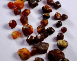 50.40 Cts Beautiful, Superb Orange Garnet  Rough Lot