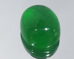 12.9ct Jade Cabochon14.3x12mm(SKU119)