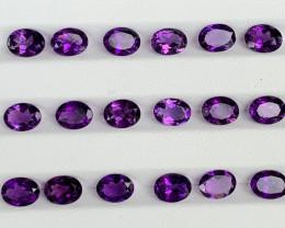 19.22 Carats Amethyst  Gemstones Parcels