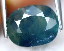 Sapphire 4.72Ct Natural Navy Blue Sapphire Big Size A2109