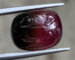 9.72 Carats Natural Bi Color Tourmaline Cabochons
