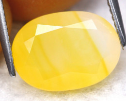 Fire Opal 3.47Ct Natural Yellow Color Mexican Fire Opal B2109