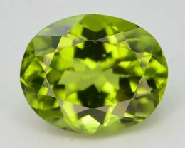 3.00 Ct Untreated Green Peridot T