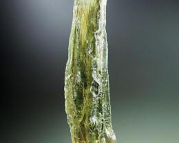 Moldavite with Olive green color