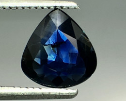 Certified 1.39 Ct Blue Sapphire Amazing Luster