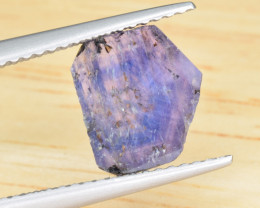 Natural  Sapphire Slice with Zoning 1.90 Cts from Afghanistan