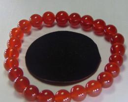 Beautiful Red Carnelian Beats 8 mm Round