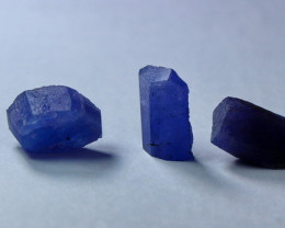 26.85 CT Unheated ~ Natural Blue  color Tanzanite Rough Lot