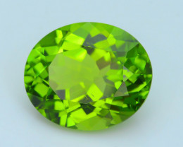 Exquisit Color 6.88 ct Burma Peridot Sku-3