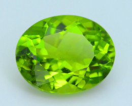 Exquisit Color 5.57 ct Burma Peridot Sku-3