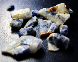 101.50 CT Unheated ~ Natural Blue  color Sapphire Rough Lot