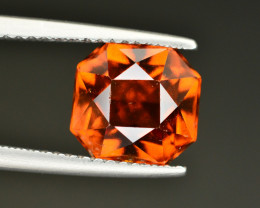 Natural 3.50 Ct Fancy Shape Hessonite Garnet Gemstone