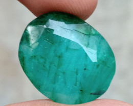 23.00 CT BIG EMERALD GEMSTONE NATURAL GEM Treated VA3950