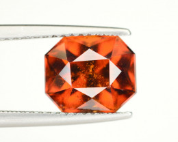 Natural 3.80 Ct Fancy Shape Hessonite Garnet Gemstone