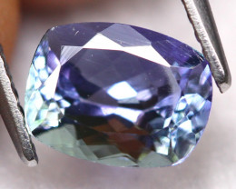 Tanzanite 2.10Ct Natural VVS Purplish Blue Tanzanite D2204