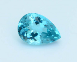 Great Luster 5.12 ct Apatite Mesmerizing Caribbean Color