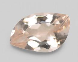 2.01 Cts Amazing Rare Natural Pink Color Morganite Gemstone