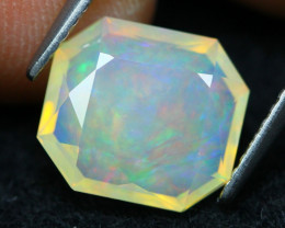 Welo Opal 2.13Ct Natural Ethiopian Faceted Welo Opal D2226