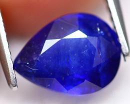 Ceylon Sapphire 2.61Ct Royal Blue Sapphire D2230