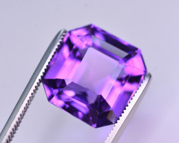 7.60 Ct Sparkling Color Natural Amethyst ~ Uruguay