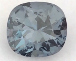 Pretty Precision Cushion Cut 1.30ct Blue Spinel - Burma Ref 2241