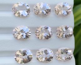 37.57 Carats Morganite Gemstones Parcels Pairs