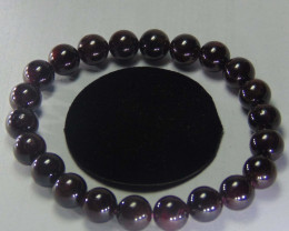 Beautiful  garnet beads cabs Bracelet