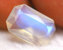 1.96Ct Top Grade Natural Blue Flash Color Rainbow Moonstone MC11