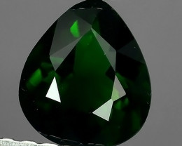 0.60 cts beautiful chrome tourmailne pear shape