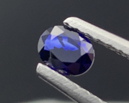 """NR"" ""GIL"" Royal Blue Natural Sapphire Unheated/Untreated Top Quality 0.37"