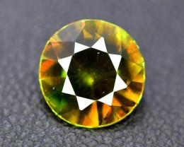 1.80 cts Natural Full Fire Chrome Sphene Titanite Gemstone