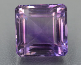 11.29 CT NATURAL AMETHYST TOP FANCY CUT GEMSTONE A14