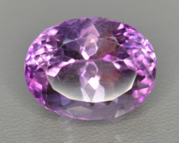 10.21 CT NATURAL AMETHYST TOP FANCY CUT GEMSTONE A24