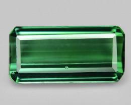2.27 Cts Unheated Fancy Yellowish Green Natural Tourmaline Gemstone