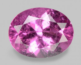 1.78 Cts Unheated Fancy  Pink Natural Tourmaline Gemstone
