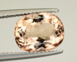 Amazing Quality 3.85 Ct Natural Peach Color Morganite