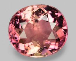 1.72 Cts Unheated Fancy  Pink Natural Tourmaline Gemstone