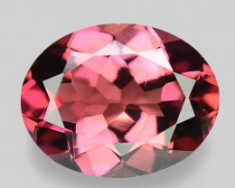 2.00 Cts Unheated Fancy  Pink Natural Tourmaline Gemstone