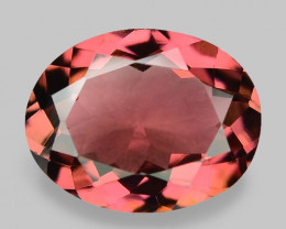 1.65 Cts Unheated Fancy  Pink Natural Tourmaline Gemstone