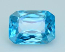 AAA Grade 2.23 ct Blue Zircon Cambodia SKU.8