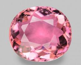 1.30 Cts Unheated Fancy  Pink Natural Tourmaline Gemstone