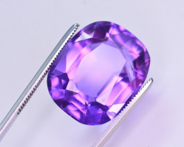 16.55 Ct Sparkling Color Natural Amethyst ~ Uruguay