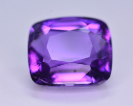 7.85 Ct Sparkling Color Natural Amethyst ~ Uruguay