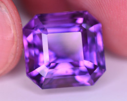 13.90 Ct Sparkling Color Natural Amethyst ~ Uruguay