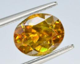 Rare 2.16 ct Sphalerite Great Dispersion Spain