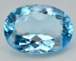 11.55 Ct  Natural Blue Colo Swiss  Topaz T